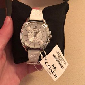 White Coach Watch,New with tags